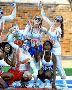 SMU football fans... U11 Spirit organization #ponyup #smumustang11