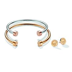 Return to Tiffany circle edge cuff in sterling silver, medium Tiffany & Co.