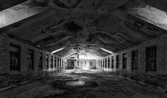 abandoned mental hospitals | Abandoned building from the Manteno State Mental Hospital in Manteno ...