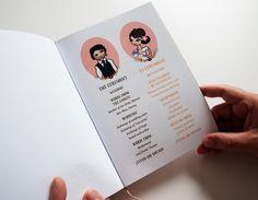 Libros de ceremonias personalizados   María Vilarino This Is Love, Marriage, Bridesmaid, Wedding Invitations, Day Planners, Weddings, Books, Casamento, Dama De Honor