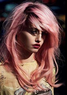 New Post : Soft Pink Truth  http://susofercort.wordpress.com/Soft, Pink, Truth, Pink Hair, Pelo Rosa, Suso Fercort, Inspiration, Brush