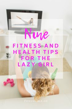 Welcome to the lazy girl tribe, where we do our best to find the laziest fitness and health tips that still grant us six-packs without us having to do anything. Group Fitness, Fitness Tips, Health Fitness, Fitness Exercises, Nutrition Tips, Health Tips, Health Quiz, Burn Fat Build Muscle, Workout Essentials