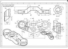 99477328 Mechanical Engineering Drawing Book Pdf Beautiful Chris Kordecki Chriskordecki in 2020 Mechanical Engineering Design, Mechanical Design, 3d Sketch, Sketch Design, Autocad, Isometric Drawing Exercises, Cb 750 Seven Fifty, Drawing Book Pdf, Interesting Drawings