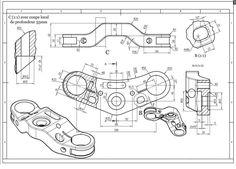 Mechanical drawings / Blueprints / CAD Drawings