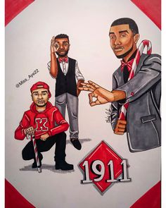Happy Founders Day to the Smooth Brothers of Kappa Alpha Psi Fraternity, Inc. Happy Founders Day to the Smooth Brothers of Kappa Alpha Psi Fraternity, Inc. Dope Cartoons, Dope Cartoon Art, Happy Founders Day, Kappa Alpha Psi Fraternity, Divine Nine, Senior Year Of High School, Greek Culture, Music Tattoos, Greek Life