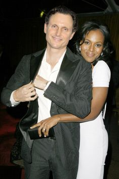 Tony and Kerry....good chemistry on AND off the set.