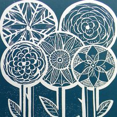 The 18 Best Lino Prints Images On Pinterest