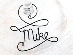 Delight your wedding guests with these unique wedding favors. A personalized wine glass charm, the perfect, multi-purpose alternative to a traditional wedding place card marker on your guests tables. A personalized wine charm will also make a wonderful gift for your bridal party - a
