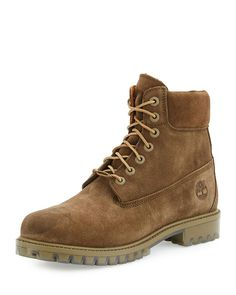 "Autumn Leaf 6"" Premium Waterproof Hiking Boot, Olive"