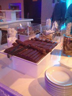 Wedding Hall Smore Table