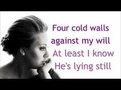 Adele - 'If It Hadn't Been For Love' --lyrics - YouTube