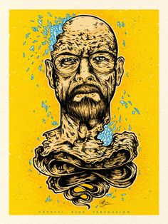 Drawn Walter White by Paul Granese