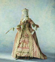 """Dress (""""robe à la française"""") c. 1760- France?"""