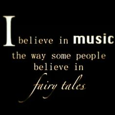 Music and fairytales
