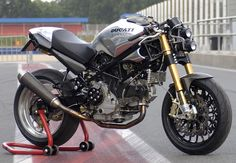 Ducati monster customized