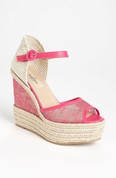 Valentino Glamorous Wedge Sandal