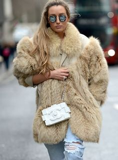 on the streets in London #LFW