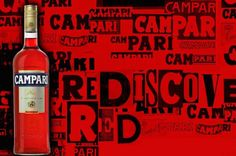 Campari invites consumers to #RediscoverRed  The campaign, named the Campari Red Night District, encourages consumers to explore the brand's history through art and cocktails.