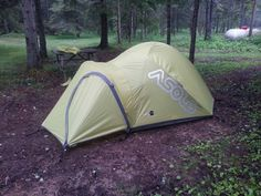 Notre tente. Campsite #17 Great Lakes, Campsite, Ontario, Outdoor Gear, Tent, Camping, Tentsile Tent, Outdoor Tools, Tents