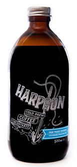 Harpoon Cold Brew Coffee from Dunedin, New Zealand