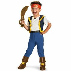 Disney Jake and the Never Land Pirates Deluxe Jake Child Costume