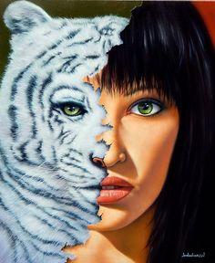 Wild is an original Giclee on canvas painting by master artist Jim Warren. Jim Warren, Surreal Artwork, Earth Design, West Art, Big Animals, Magic Realism, Artwork Images, Unusual Art, Amazing Art