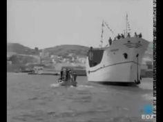 Σύρος - Ένα ιστορικό Βίντεο της Ερμούπολης του περασμένου αιώνα Boat, Island, Dinghy, Boats, Islands, Ship