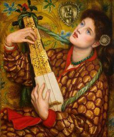Dante Gabriel Rossetti (1828-1882), A Christmas Carol - 1867