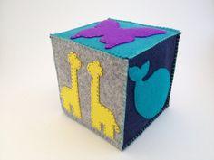 Felt Blocks by ZoeandGem on Etsy