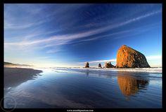 A walk on the beach always calms the mind and awakens the soul. I love Cannon Beach, Oregon!