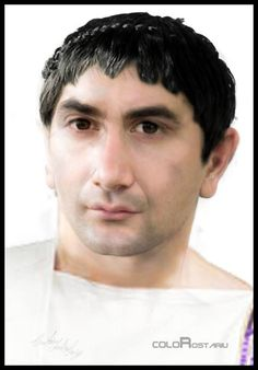 Реконструкция внешности императора Траяна, автор Andrei George Croitoru