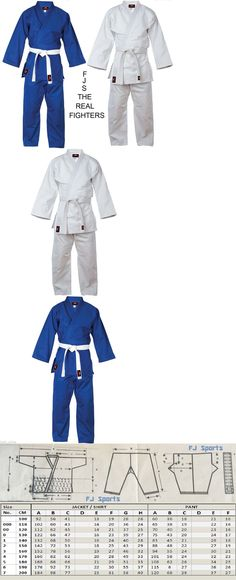 Judo Uniform BJJ GI Single Weave 450 gram White Blue kids//Adults NEW FJS