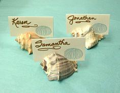 100 concha lugar tarjeta titulares  bodas de por SeashellCollection
