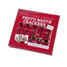 Christmas Photo Booth 10'' Crackers