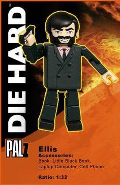Die Hard Palz Mini Figures Ellis - The Movie Store