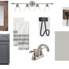 Rustic Farmhouse Style Bathroom Design Plans and Before Pics
