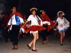 Typical clothing for the warmer climates in Bolivia.