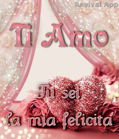 Il mio amore il mio cuore foto ti amo immagine, #amo #amore #cuore #foto #il #immagine #mio #ti Italian Memes, Greetings Images, Romantic Love Quotes, Happy, Jack Sparrow, Emoticon, Anna, Italy, Stickers