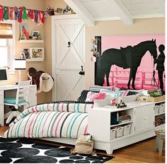 horse,horse room,horse girl bedroom,