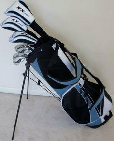 Complete Ladies RH Golf Club Set Driver Wood Hybrid Combo Irons Putter & Bag for sale online Golf Club Fitting, Golf Club Sets, Ladies Golf Clubs, New Golf Clubs, Womens Golf Set, Disc Golf Scene, Golf Gadgets, Golf Bags For Sale, Dubai Golf