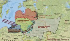 LITHUANIA [200 to 1990] Decline of the Baltic languages