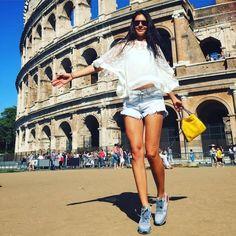 Andreea Mitu at Colliseum Rome