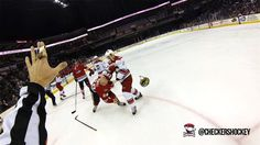Referee Captures Close-Up Look of a Hockey Game with His GoPro Helmet Cam