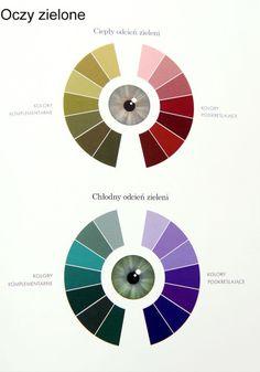 kolory_oczy_zielone Beauty Secrets, Diy Beauty, Beauty Hacks, Beauty Tips, Makeup For Green Eyes, Color Harmony, Complimentary Colors, Beauty Recipe, Eye Make Up