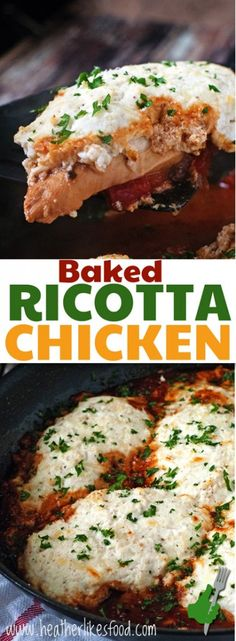 Baked Ricotta Chicken