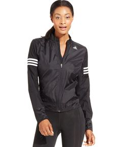 Adidas Response ClimaProof® Storm Wind Jacket - Activewear - Women - Macy's
