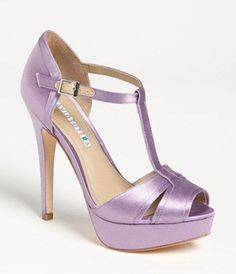 David Tutera 'Joy' Sandal (Online Only Color) available at Nordstrom Pretty Shoes, Beautiful Shoes, Beautiful Things, Crazy Shoes, Me Too Shoes, Mode Statements, Mode Shoes, Footwear Shoes, Purple Shoes