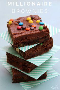 Millionaire Brownies #GameNightIn #ad
