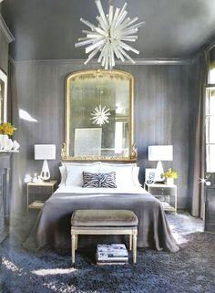 all grey room interesting