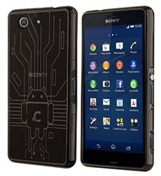 Cruzerlite Bugdroid Circuit Case For Sony Xperia Z3 Compact - Retail Packaging - Smoke http://www.smartphonebug.com/accessories/top-26-sony-xperia-z2-cases-and-covers/